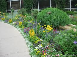 Small Picture garden edging next to sidewalk Flower gardens include annuals to