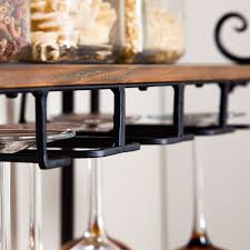 Metal wine glass rack Kitchen Retail Price 27900 Wayfair Sturdy Metal And Wood Bakers Rack With Wine Glass And Bottle Storage