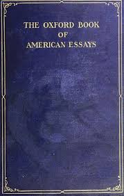 the project ebook of the oxford book of american essays  image of the book s cover