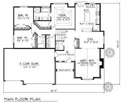 Spacious Great Room Design   AH   st Floor Master Suite  CAD    Floor Plan