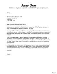 Restaurant Manager Cover Letter Fresh Prepasaintdenis Resume Cover
