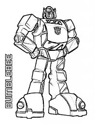 Transformer Bumblebee Coloring Pages intended to Inspire to color ...