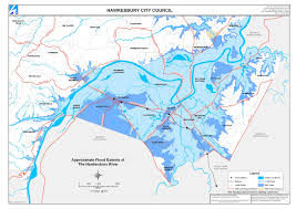flood extent maps  hawkesbury city council