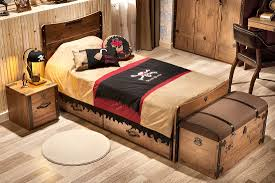 Pirate Bedroom Furniture Extraordinary Design Ideas Using Rectangular Brown Wooden