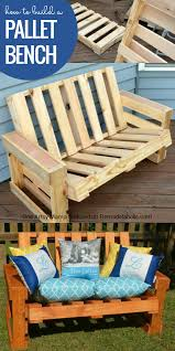 remodelaholic how to build a pallet bench