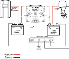 auto battery charger circuit diagram images xantrex wiring si acr automatic charging relay 1224v dc 120a blue sea systems