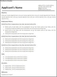 Microsoft Resume Templates Free Adorable Resume Templates Free Download For Microsoft Word Sahabatsehat