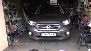 2018 Honda Crv Fog Light Bulb Replacement How To Replace Change Foglight Bulb Honda Cr V Led Cob Cree Philips