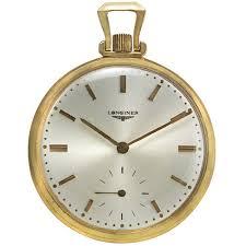 longines 14k gold vintage pocket watch pwlg0600 please click here