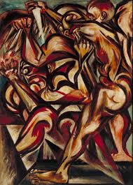 birth jackson pollock c tate artwork