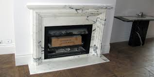 calacatta marble fireplace prev next fireplace
