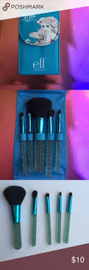 limited edition e l f little mermaid brush set