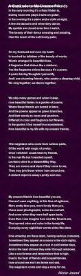 A Gratitude To My Unseen Friends Poem By Akhtar Jawad Poem Hunter