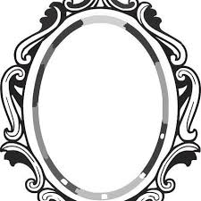 mirror frame drawing. Line Drawing Mirror Frame Clipart Panda Free Mirror Frame Drawing