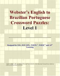 English To Brazilian Websters English To Brazilian Portuguese Crossword Puzzles