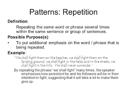 Patterns Definition Delectable Sentence Structure Patterns Ppt Download