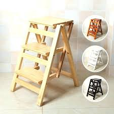 folding wooden step ladder wood chair step stool multi functional ladder stool chair bench seat wood folding wooden step ladder