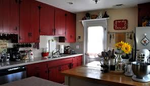 fancy rustic red painted kitchen cabinets painting kitchen cabinets antique black full size of kitchens
