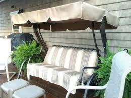 new patio swing replacement cushions or stylish replacement cushions canopy for swing garden hammock 3 swing