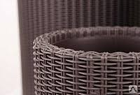 <b>Кашпо Keter Cylinder Planter</b> M / 223941 (коричневый), цена в ...