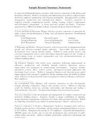 Sample Profile Summary For Resume Great Resumes How To Write Your