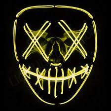 Light Up Mask Pin On Comic Skills