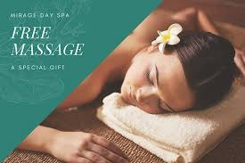 Day Spa Gift Certificate Template Free