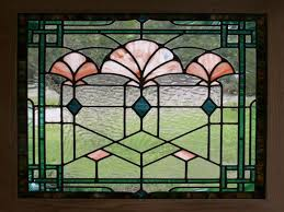 faux stained glass window interior to little pictures of