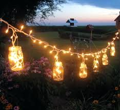 covered patio lighting ideas. Patio Ideas: Outdoors Mesmerizing Garden Fairy Lighting Ideas With Glass Jar Outdoor Covered