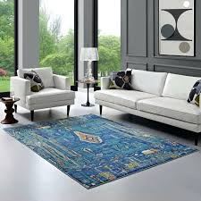 area rugs 4x6 distressed southwestern area rug in multicolored lifestyle