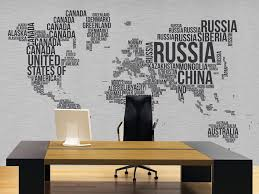 modern office wallpaper. Custom Wallpaper Modern Wall Murals For Home Office Kids N