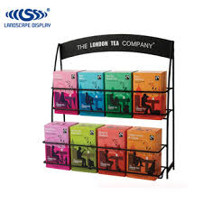 Tea Bag Display Stand Interesting Custom Made Metal Tea Box Display Stand Wire Display Shelf For Tea