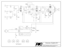 rickenbacker b series bass amp sch service manual rickenbacker m11