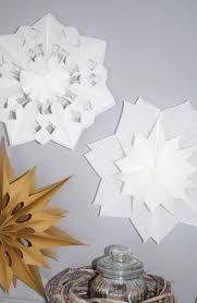 Rosarot Mintgrün Diy Weihnachtssterne Aus Papiertüten