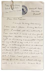 alan turing professor olsen large a letter sent from alan