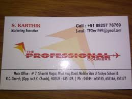 Preferred Courier Services In Kelamangalam Hosur Top