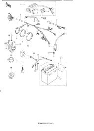 kz wiring diagram image wiring diagram 1978 kawasaki kz650 kz650b chassis electrical equipment parts on 1978 kz650 wiring diagram