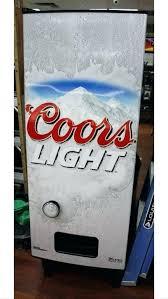 Coors Light Vending Machine Classy Coors Light Merchandise Light Refrigerator Light Vending Machine