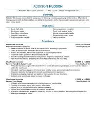 Warehouse Job Titles Resume warehouse job titles resume best warehouse associate resume example 1