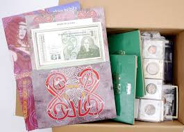 1928 1968 Collection Of Irish Coins In Albums Also All Word Mixture