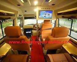 maharaja tempo traveller luxury seating