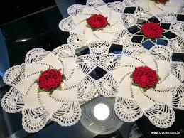 Caminho de mesa passo a passo crochet S2 Pinterest Crochet.