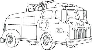 Coloring Pages Fire Truck Coloring Pages Fire Truck Fire Truck