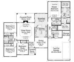 floor plan first story of country plan 141 1005