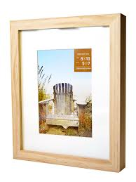 gallery wood frames for canvas 8 in x 10 in natural 5 in