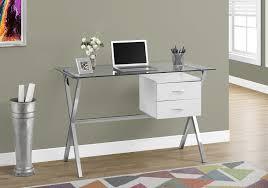glass top office table. 48\ Glass Top Office Table