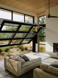 interior garage door living room modern glass decorating clear inside 26 from garage door living