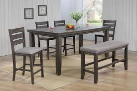 2752 Bardstown Grey Crown Mark Counter Height Dining Set