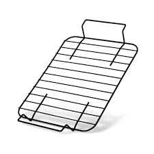 Форма для запекания 37x27x5см с решеткой (углеродистая сталь)