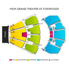 Fox Theater Seating Chart Connecticut 11 Perspicuous Foxwood Mgm Grand Seating Chart